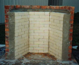 Hart Rumford Fireplace Construction | Using the Forms